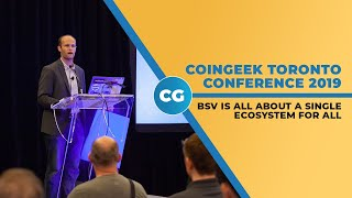 Ryan X. Charles talks developing on BSV at CoinGeek Toronto 2019