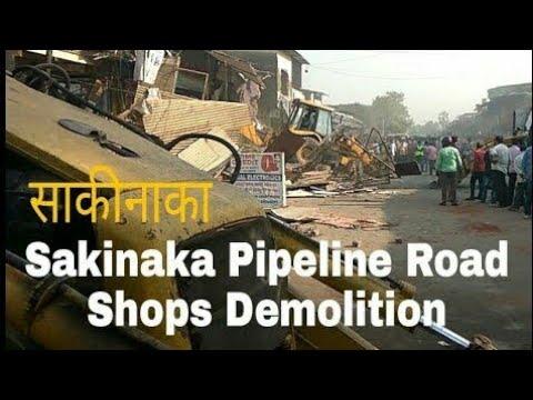 SAKINAKA PIPELINE SHOPS GETTING DESTROYED!