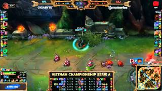 17 05 2015 gfl vs saj highlight vcsa ma h 2015 tuần 1