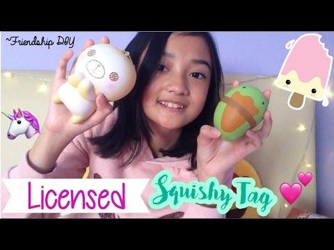 🇮🇩Licensed Squishy Tag (Indonesia) | Friendship DIY