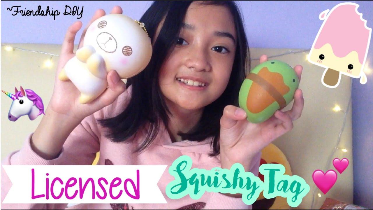 Squishy Licensed Di Asemka : Licensed Squishy Tag (Indonesia) Friendship DIY - YouTube