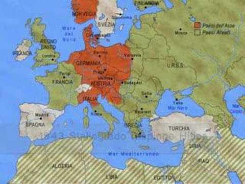 La seconda guerra mondiale - Riassunto
