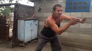 Урок танца от мастера КУНГ-ФУ Андрюхи (часть 1)