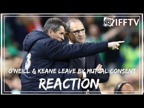 Martin O'Neill & Roy Keane Leave Republic of Ireland Job by Mutual Consent Reaction