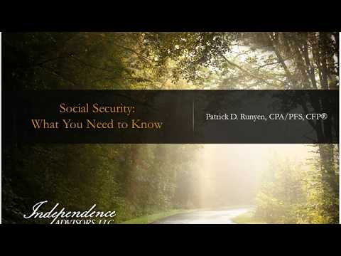 How to Maximize Your Social Security Benefit - Webinar