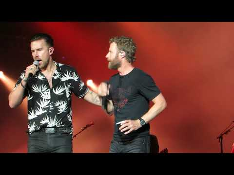 "Dierks Bentley ""Burning Man (w/Brothers Osborne)"" Live @ BB&T Pavilion"