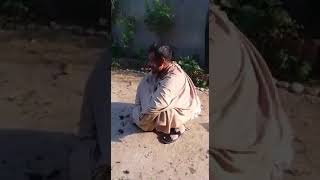 funny video clip a barber cutt the in new style (must watch)