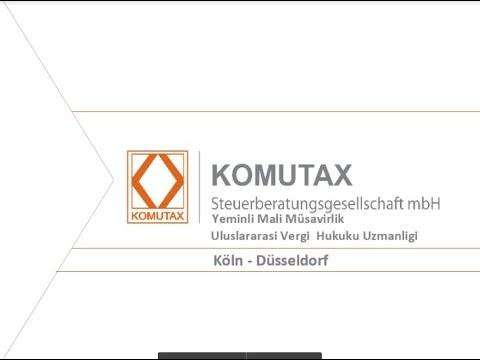 Komutax - Almanya & Türkiye Otomatik Bilgi Değişimi