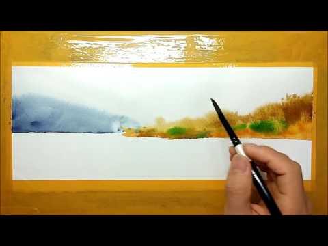 수채화 그림 watercolor painting