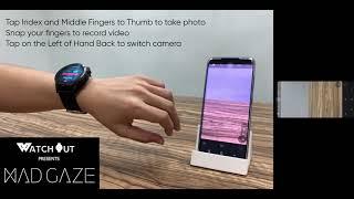 WatchOut Presents MadGaze Camera Control Demo