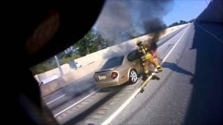 Station 6 Vehicle Fire Route 309 (HD)