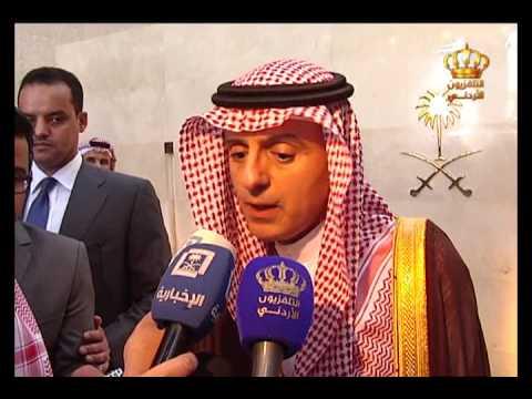 English News at Ten on Jordan Television 28-03-2017