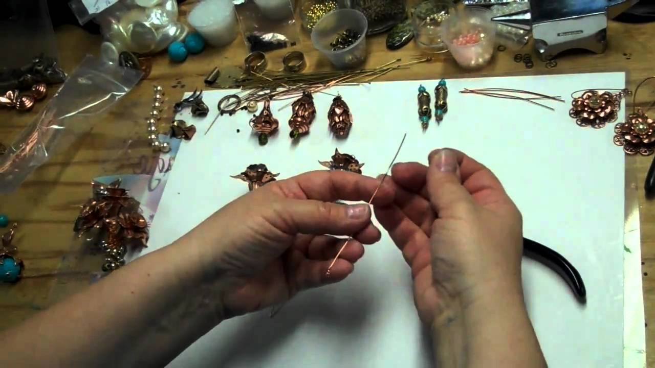 Jewelry 101 Simple Wire Wraps To Make Vintage Flower