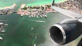 Blast Off!!!  Awesome US Airways Full Throttle HD 757 Takeoff From St. Maarten!!!