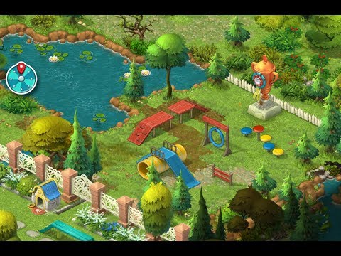 GARDENSCAPES NEW ACRES Gameplay Story Playthrough | Area 6 Day 2 And Day 3  New Waterfall Area!
