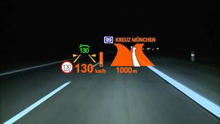 BMW 6 Series Head Up Display - Screensaver