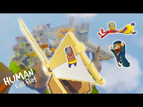 THIS GAME IS RIDICULOUS. (Human Fall Flat)  