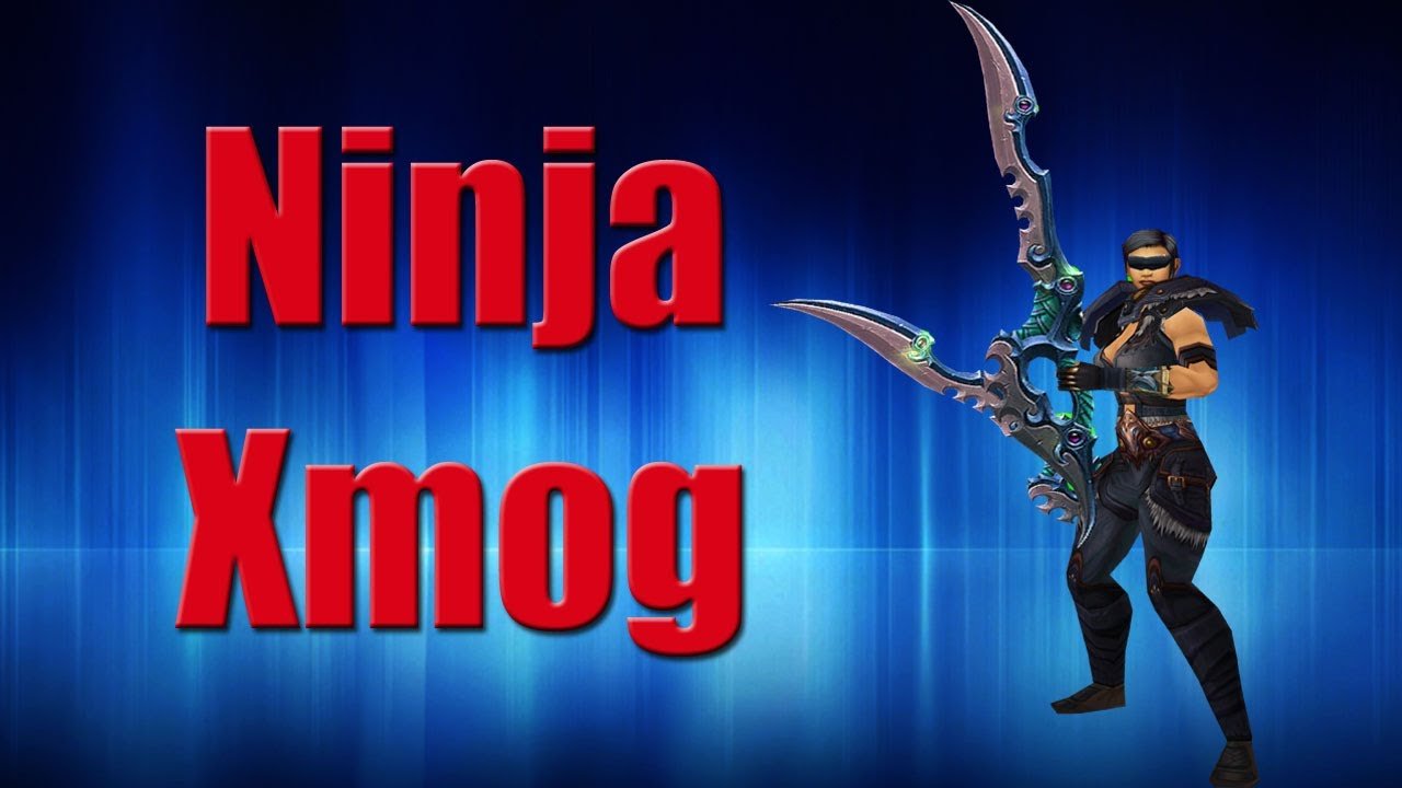 Epic Monk Ninja Transmog Youtube