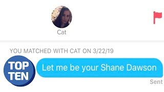 50 MORE Hilarious Tinder Conversations | r/Tinder Funny Posts 2019 | Top Ten Daily