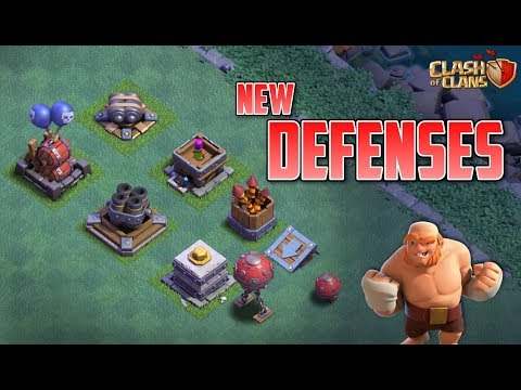 THE UPDATE IS LIVE | NEW DEFENSES ARE HERE | CLASH OF CLANS