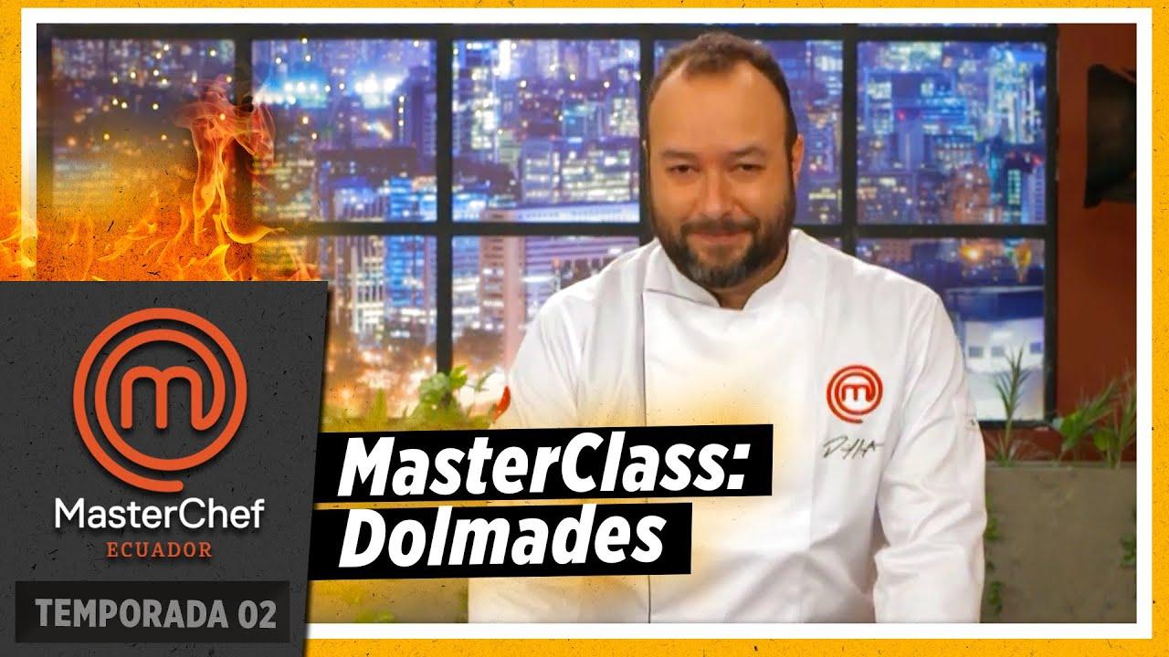 MasterClass con chef Daniel Castaño: Dolmades | MASTERCHEF ECUADOR