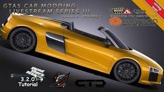 GTA 5 [PC] Live Modding Tutorial on Zmodeler3 - CG to V - Episode 1 [EN] HD
