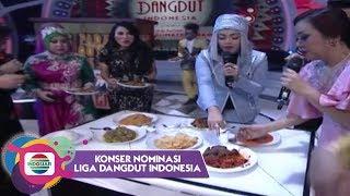 Heboh Dewan Dangdut Rebutan Masakan Padang di LIDA!