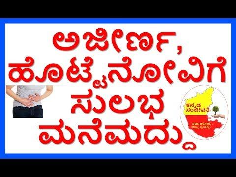 Home Remedies for Digestion Problem..Kannada Sanjeevani..