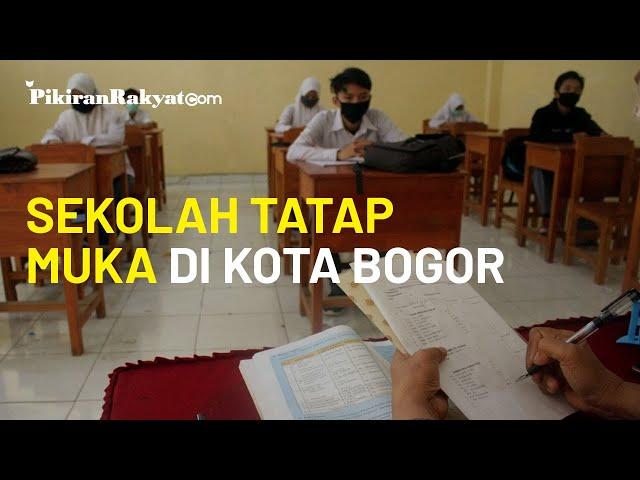 Sekolah Tatap Muka di Kota Bogor Mulai 11 Januari 2021, Dilakukan Secara Bertahap