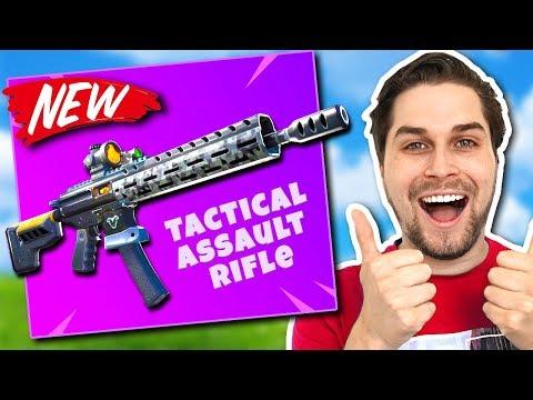 Nieuwe Tactical Assault Rifle = Win! 🔥 - Fortnite Battle Royale