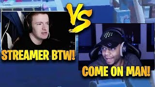 King Richard vs Vivid FIRST Ever 1v1 in a Public Solo Match!   Fortnite Highlights