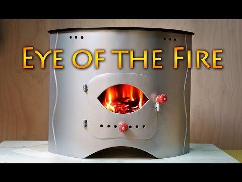 DIY CamperVan 11 Eye Of Fire - Unique Stove