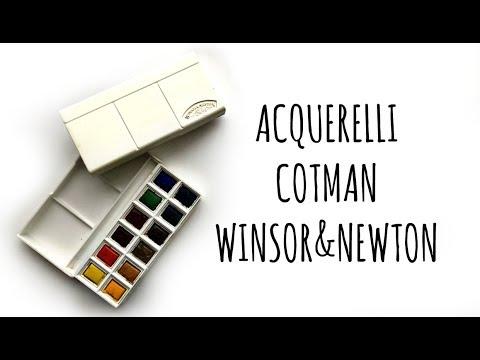 Download Acquerelli Cotman WINSOR&NEWTON  (Recensione) Arte per Te