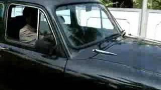 An old Hindustan Ambassador car from India !
