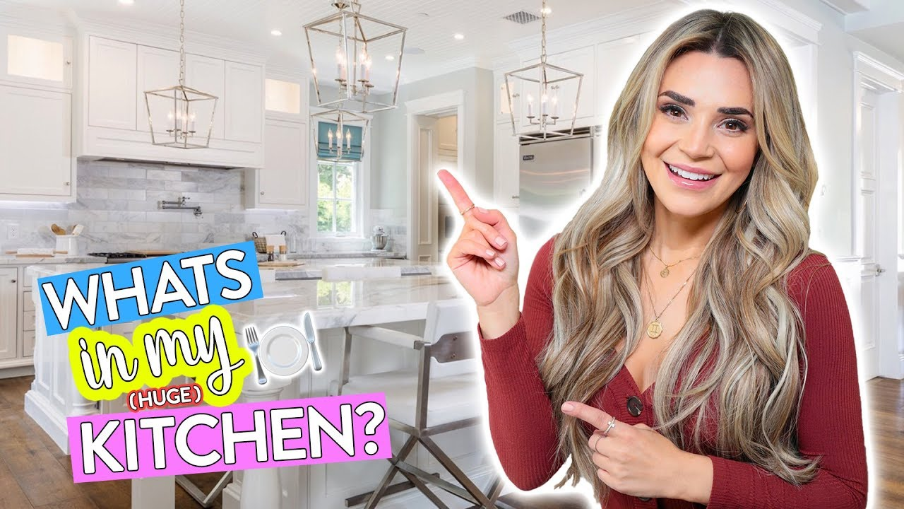 Whats In Rosanna Pansino S Huge Kitchen Youtube