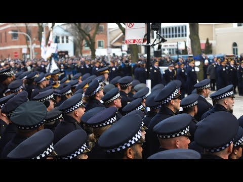 Funeral of Chicago police Cmdr. Paul Bauer