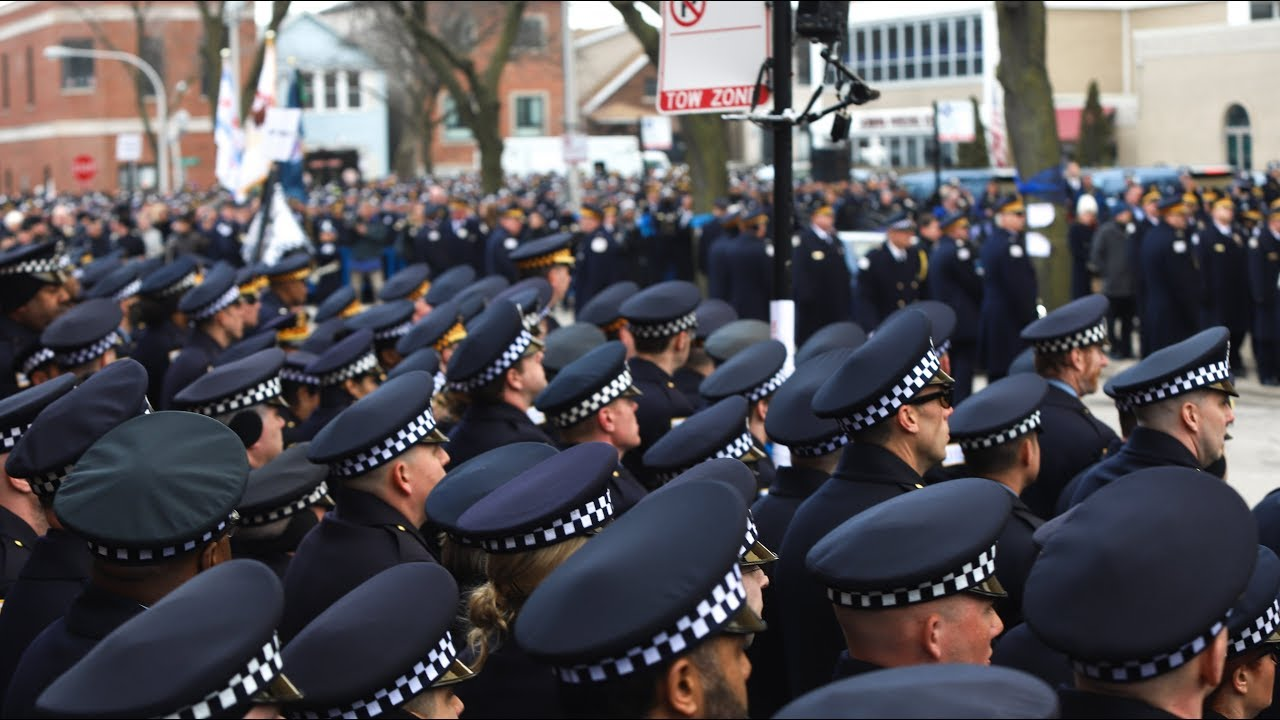 funeral of chicago police cmdr paul bauer youtube