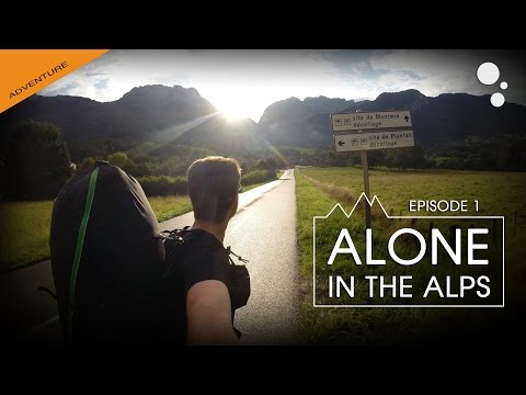Alone in the ALPS: Episode 1 (bivi paragliding)