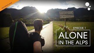 Alone in the ALPS: Episode 1 (bivi paragliding)