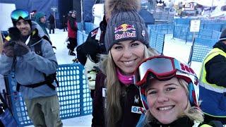 How I met Lindsey Vonn in Garmisch-Partenkirchen