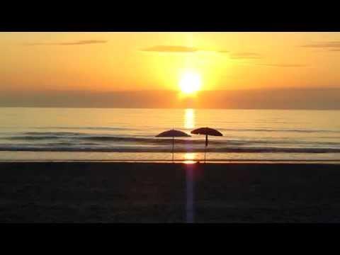 Romantic Sunrise Daytona Beach Florida: Serenity