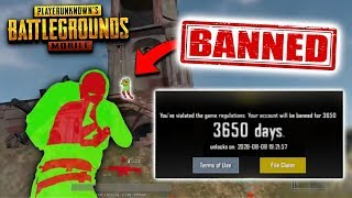 10 Ways You Can Get BANNED in PUBG Mobile...