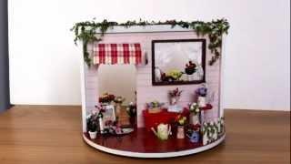 Diy Dollhouse Miniature Of Mini Rose Garden (1)  At Laminiworld.com