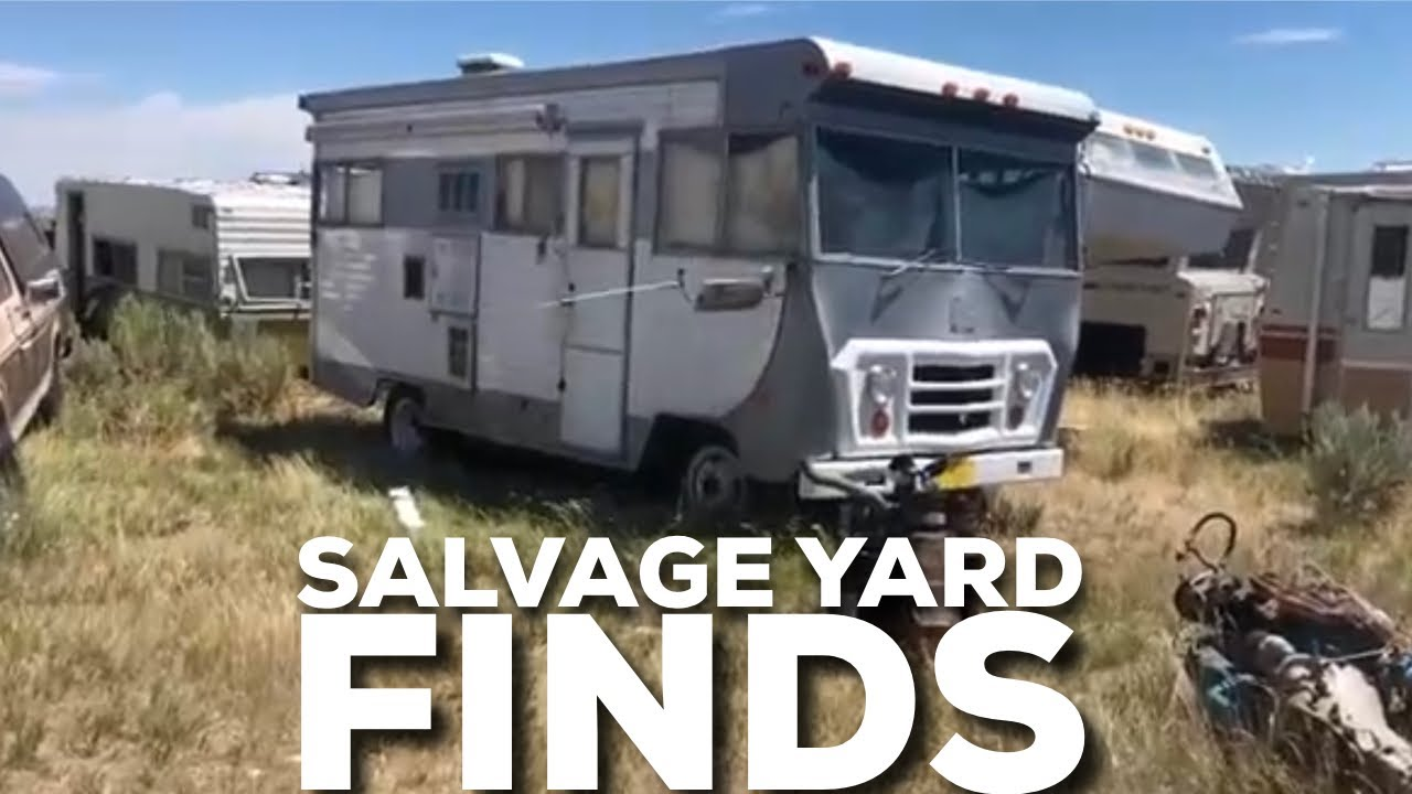 I FOUND A SALVAGE YARD THAT IS FOR SALE VLOG #123