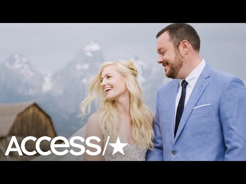 Beth Behrs And Michael Gladis Get Married In Dream Idaho Wedding
