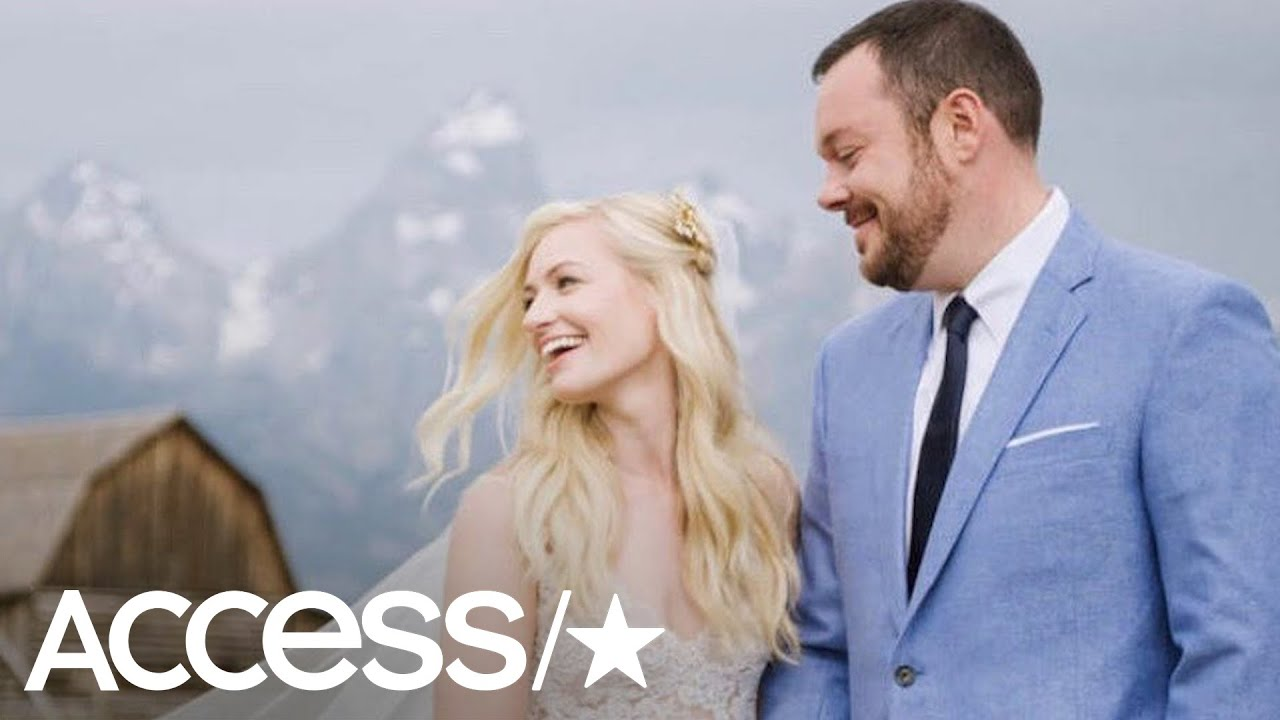 Michael Gladis and beth behrs wedding
