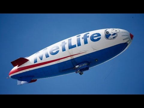 Go Onboard and Take a Ride On the MetLife Blimp!