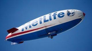 Onboard the MetLife Blimp