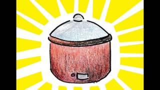 Solarkocher (Cartoon Werbung, die von Studenten der Ingenieurwissenschaften)