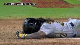 PIT@ARI: Delgado hits McCutchen, gets tossed